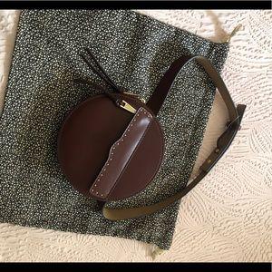 Rebecca Minkoff cognac belt bag NWT